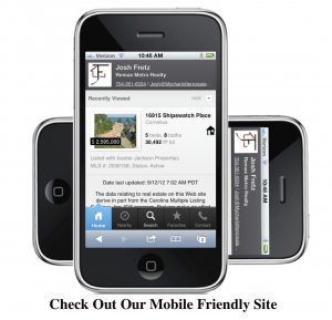 Mobile Search Charlotte NC Real Estate