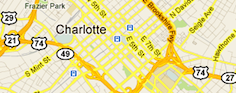 Search Charlotte Homes For Sale by Map
